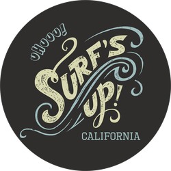 Surf's Up California Sticker