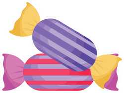 Sweet Candies Sticker