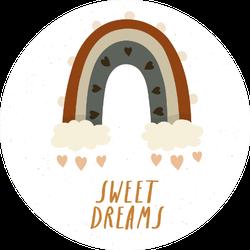 Sweet Dreams Boho Rainbow Sticker