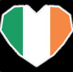 Symbol Of Love For Ireland Sticker