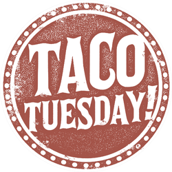 Taco Tuesday Stamp Sticker