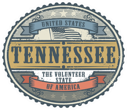 Tennessee Badge Sticker