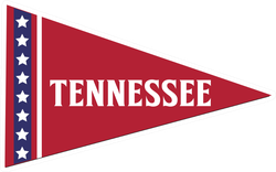 Tennessee Pennant Sticker