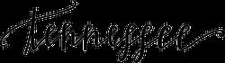 Tennessee Script Text Sticker
