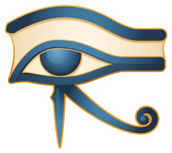 The Eye Of Horus Egypt Deity Illustration Sticker