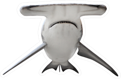 The Great Hammerhead Shark Sticker