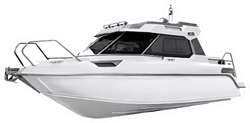 The Image Of Motor Boat Sticker