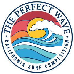The Perfect Wave Surf Competition Sticker