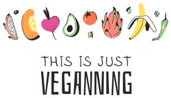 This Is Just The Veganning Vegetables Sticker