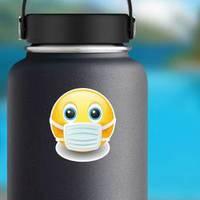 Medical Mask Emoji Kawaii Face Sticker