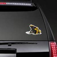 Yellow-banded Poison Dart Frog Sticker