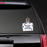 Black Lives Matter Statement Illustration Sticker example