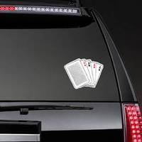 Playing Cards Set Of Aces Sticker