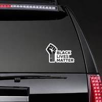 Protest Banner Black Lives Matter Sticker
