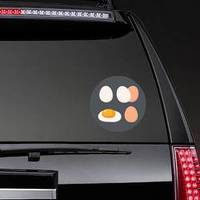 Chicken Eggs Food Icon Sticker example