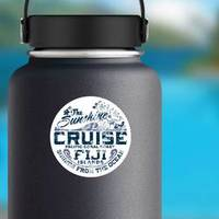 Coral Coast Fiji Sticker example
