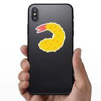 Emoji Fried Shrimp Sticker