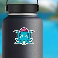 Abstract Squid Logo Sticker