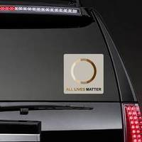 Circle All Lives Matter Sticker example