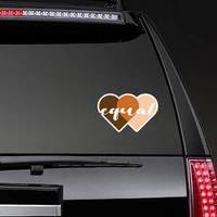 Equal On Skin Equality Heart Illustration Sticker example