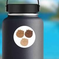 Emoji Black Lives Matter Sticker example
