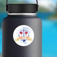 Across The Sea Anchor Watercolor Sticker example
