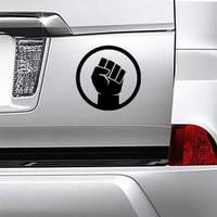 Raised Fist Sticker example