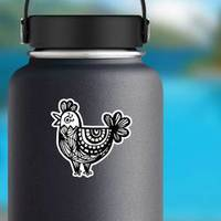 Rooster Chicken Chinese Zodiac Symbol Sticker example