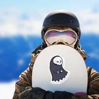 A Cartoon Spooky Ghoul Sticker example