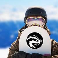 Skunk Animal Cartoon Logo Sticker