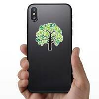 Money Tree Sticker on a Phone example