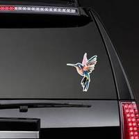 Image Of A Multi-colored Caliber Hummingbird Sticker example