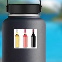 Bottles Of Wine Sticker