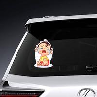Cartoon Crying Baby Sticker