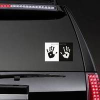 Palm Prints All Lives Matter Sticker example