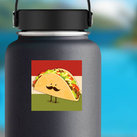 Cute Little Taco Sticker