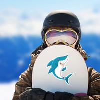 Cute Shark Giving Thumb Up Sticker
