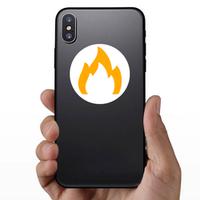 Dim Fire Sticker