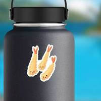 Tempura Fried Shrimp Cartoon Sticker