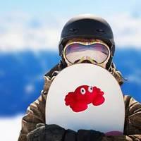 Crab Toy Sticker