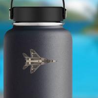 Fighter Eagle Jet Sticker
