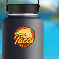 Fresh And Tasty Tacos Sticker