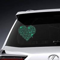 Love Video Games Heart Sticker
