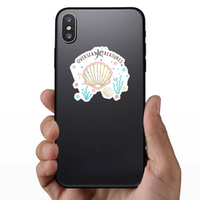 Starfish Overseas Treasures Illustration Sticker