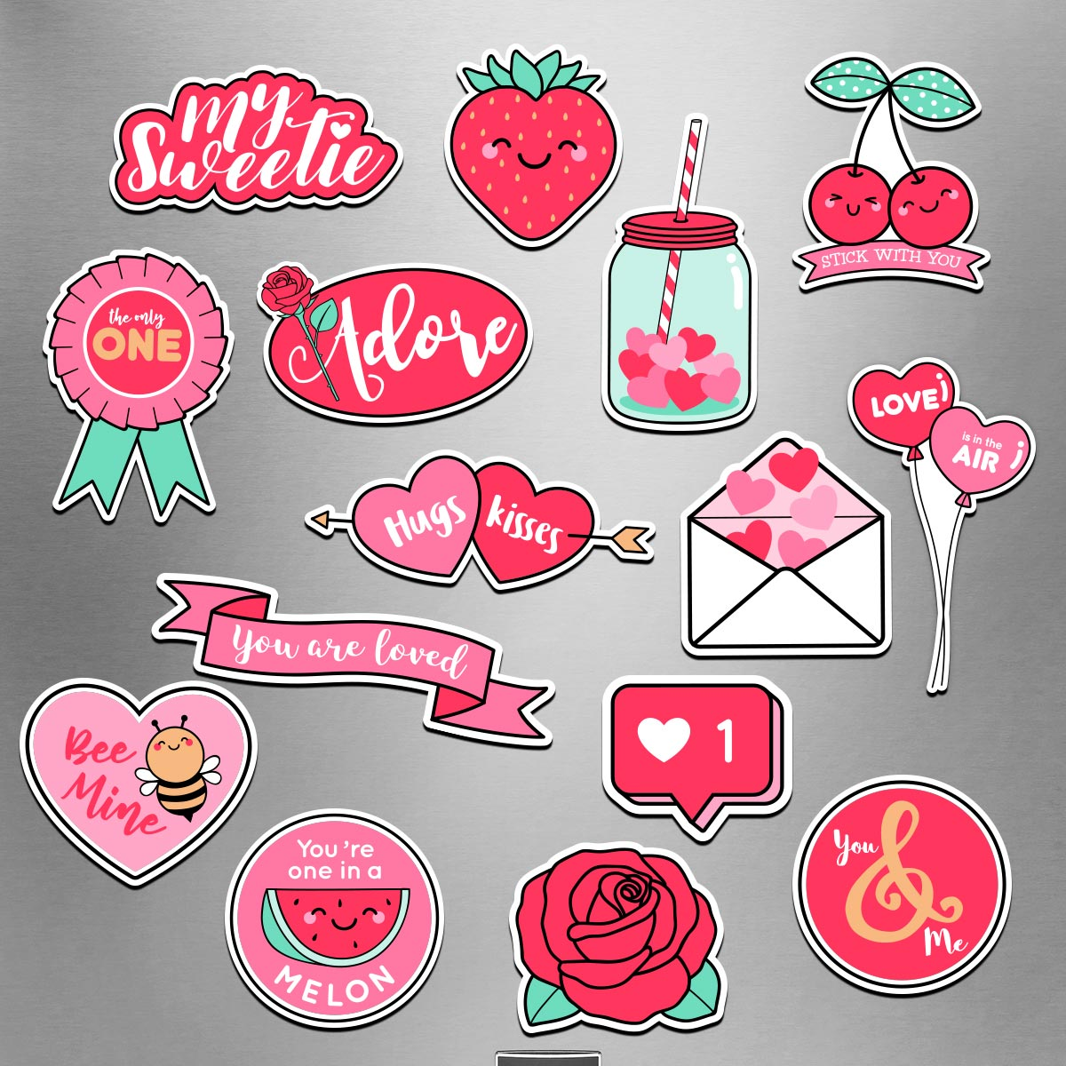 Sweet On You - Valentine's Day Magnet Pack