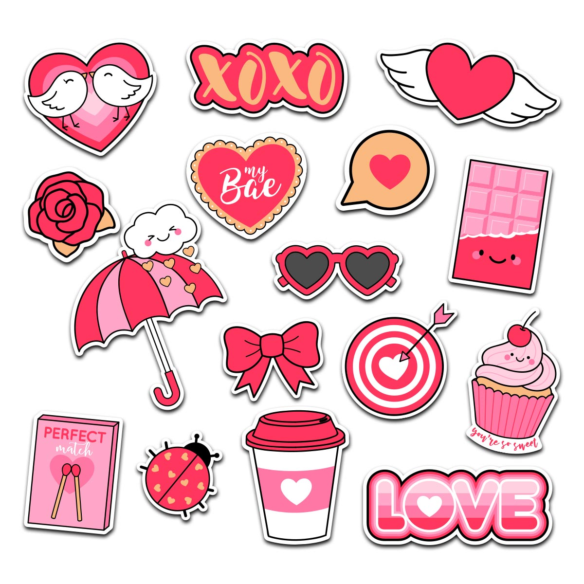 Love Is In The Air - Valentines Day Magnet Bundle