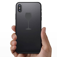 Wine Glass Icon Sticker