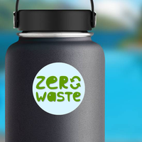 Zero Waste Conception Sticker