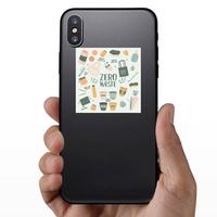Zero Waste Elements Sticker