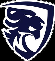 Tiger Modern Logo Design Sticker